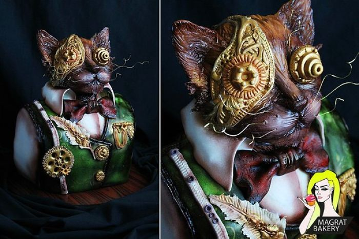Weird But Awesome Cakes By Russian Self-taught Baker
