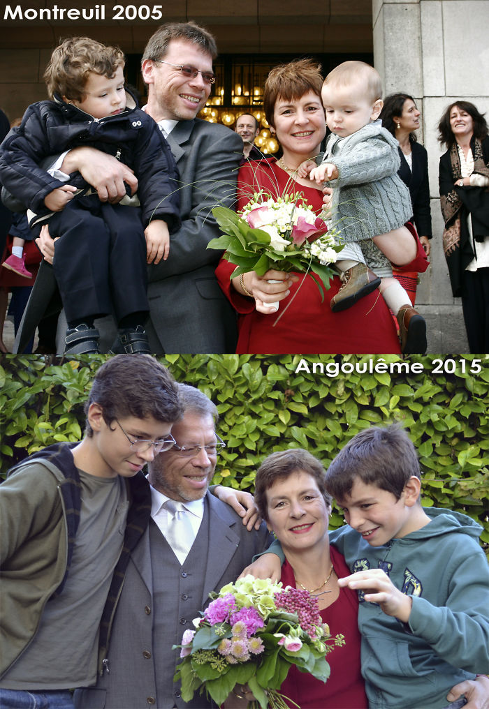 Our Marriage (with Our Sons), And Ten Years After.