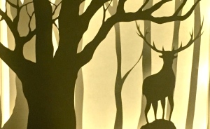 Papercut Lightboxes That I Cut From One Continuous Piece Of Paper