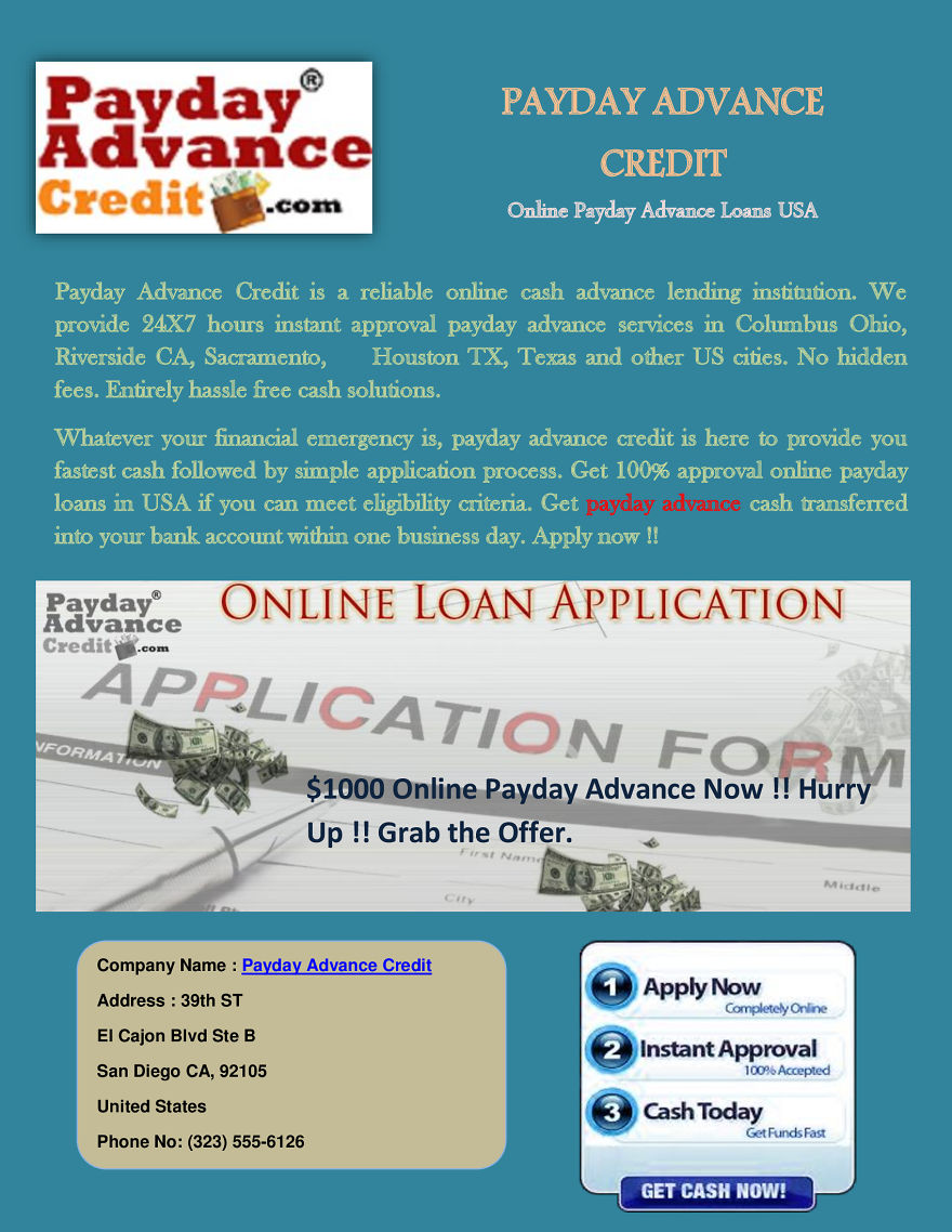Do You Need Payday Advance Online | Bored Panda