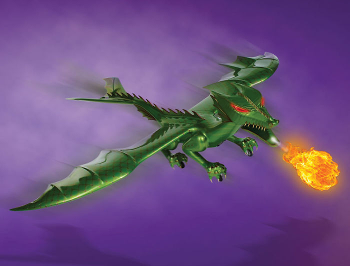 A Flying Fire Breathing Dragon? Want It!