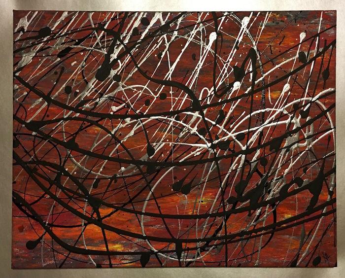 Capriccio Painted By Xil For Reshma Krishnan