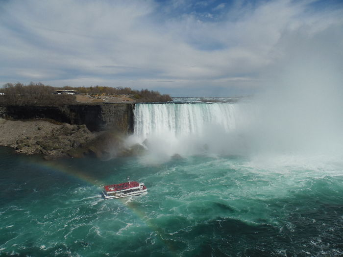 Life In Niagara Falls, American And Canadian Sides