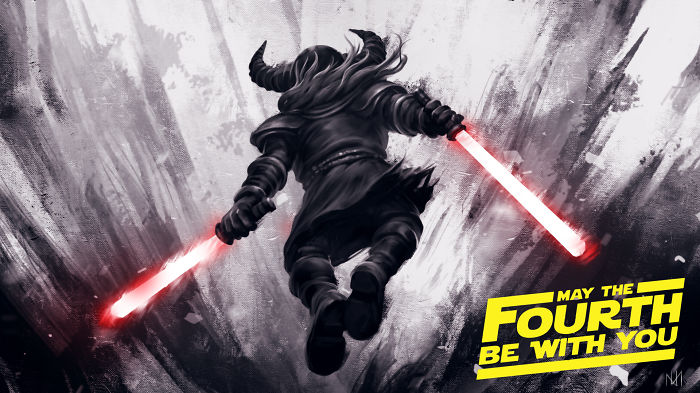 We Made This Fan Art For Star Wars Day