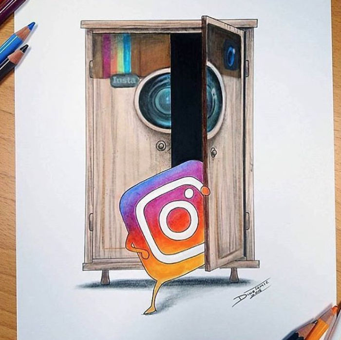 Artists' Interpretations On The Instagram's New Look