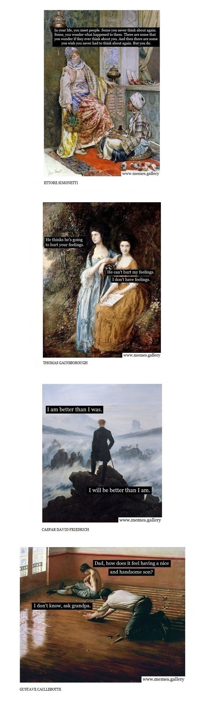 The 20 Funniest Classical Art Memes