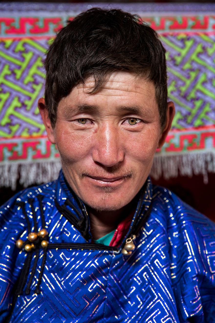 Mongolian Tuvan Man