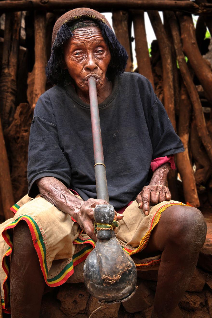 Konso Tribe Woman