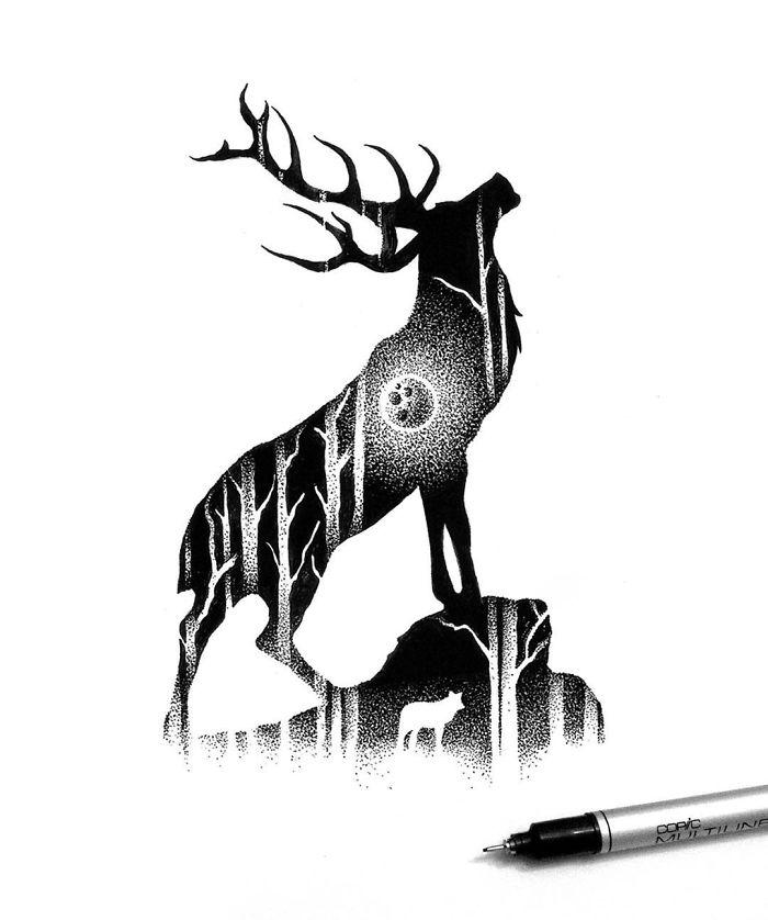 The Giant Elk