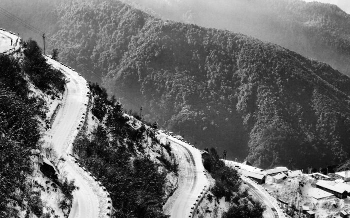 I Photographed Zuluk In India In Black And White