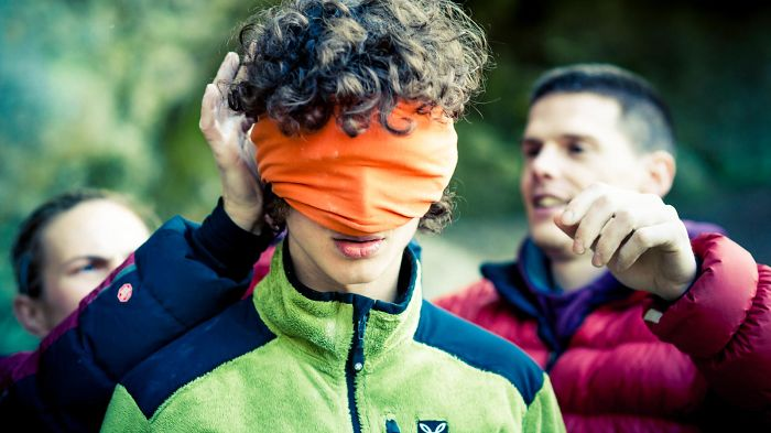 Photographing The Best Climber In The World…climbing Blindfolded