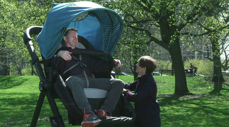 Giant Strollers For Adults Let Parents Test Drive Before