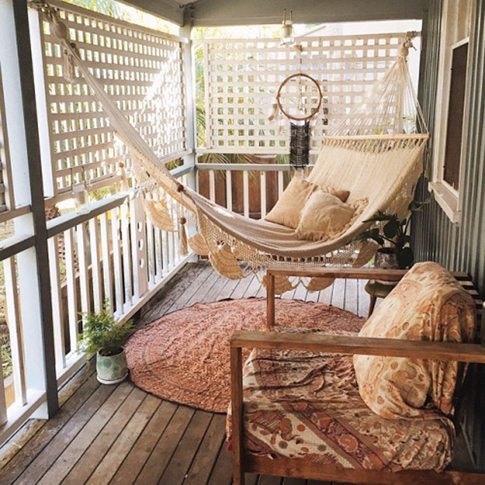 Redecoration Ideas Cozy Balcony