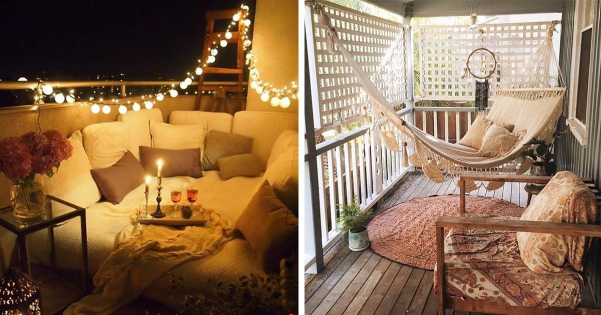 20+ Cozy Balcony Decorating Ideas  Bored Panda