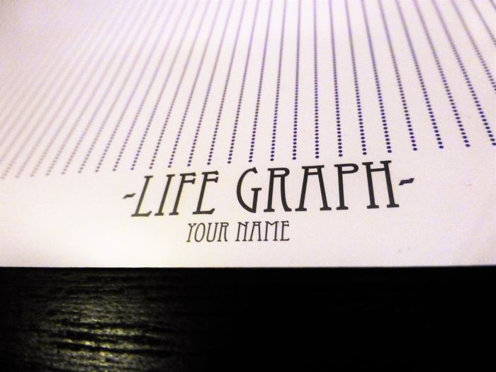 Life Graph, Your Own Piece Of Contemporary, Motivational Art That Will Change Your Life!