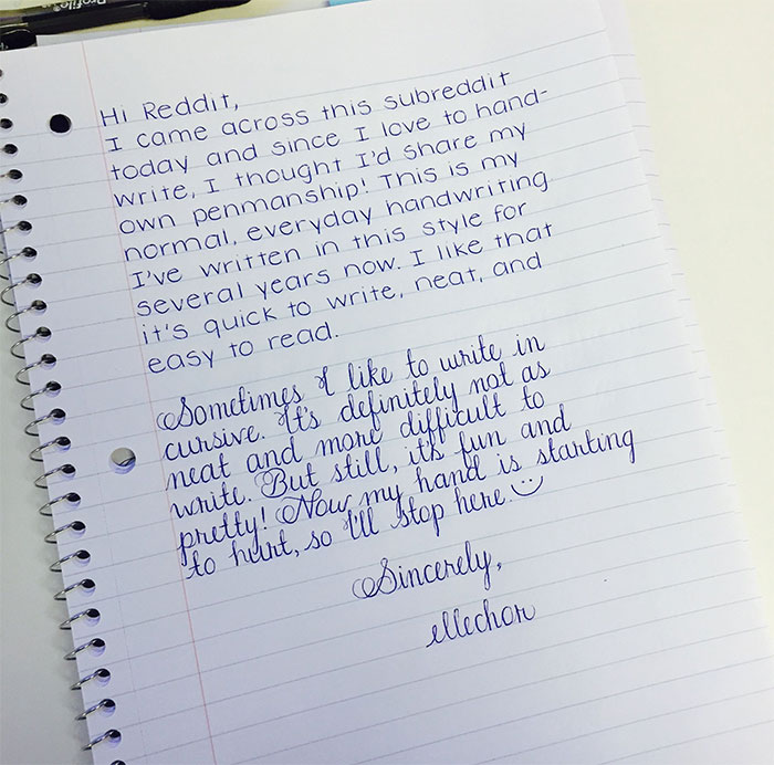 15 Perfect Handwriting Examples Thatll Give You An Eyegasm