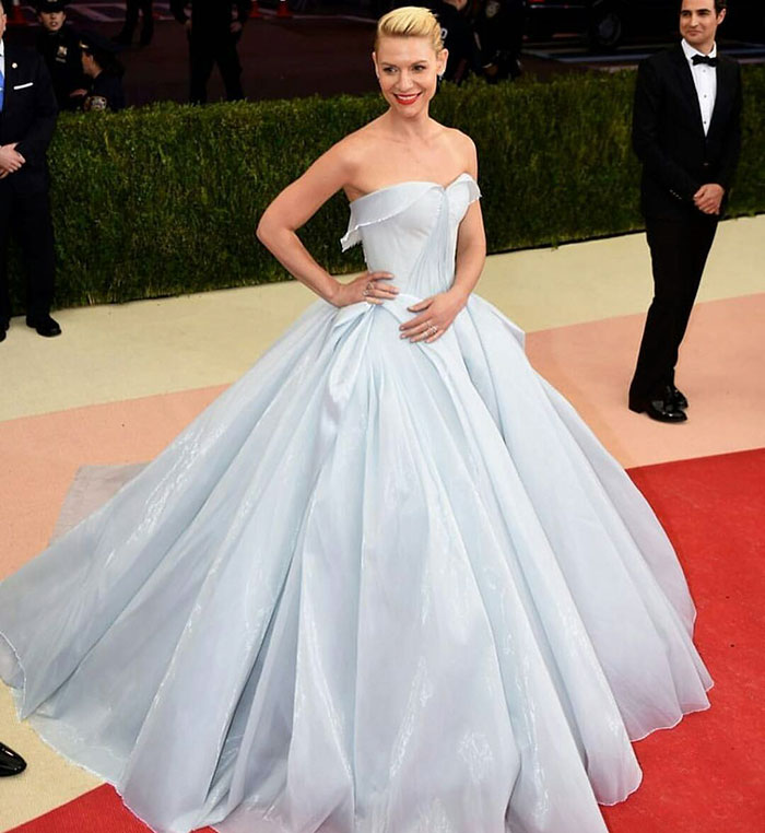 Glowing Dress Turns Claire Danes Into Cinderella At The