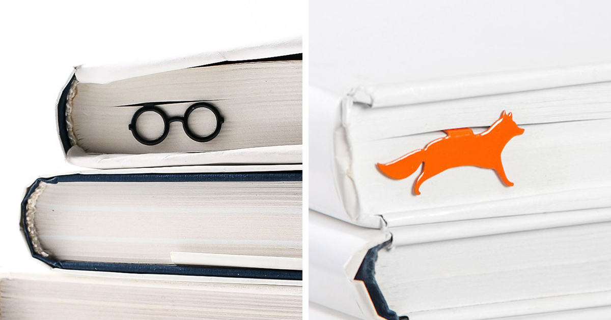 Cool Bookmarks We Make For Cool People Who Love Books