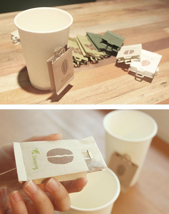 Tea Shopping Bag