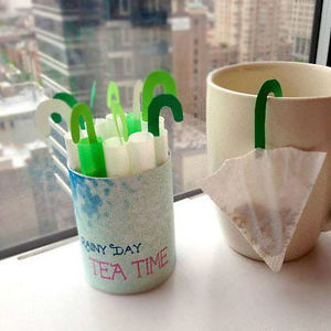 Mini Umbrella Tea Bag