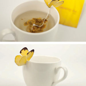 Butterfly Tea Bag
