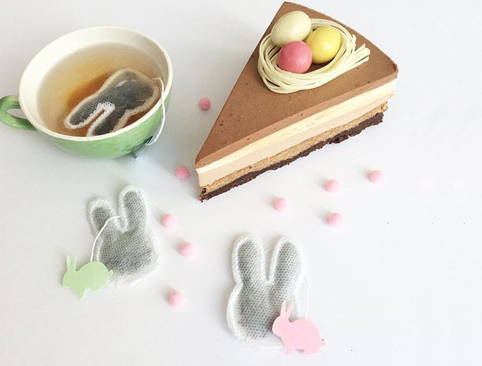 Bunny Shaped Tea Bags