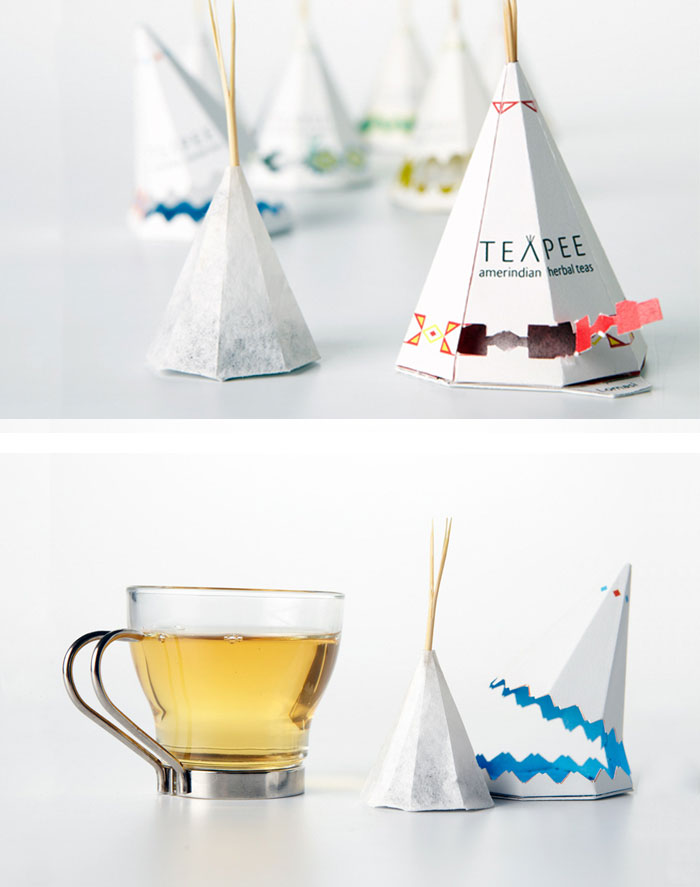 North American Tea Packaging Design