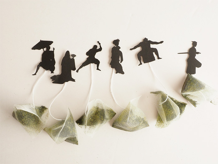 Tea Bags Inspired By Japanese Culture
