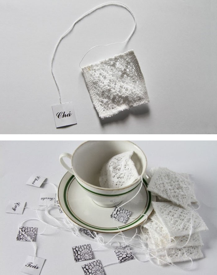 Beautiful Handmade Tea Bags
