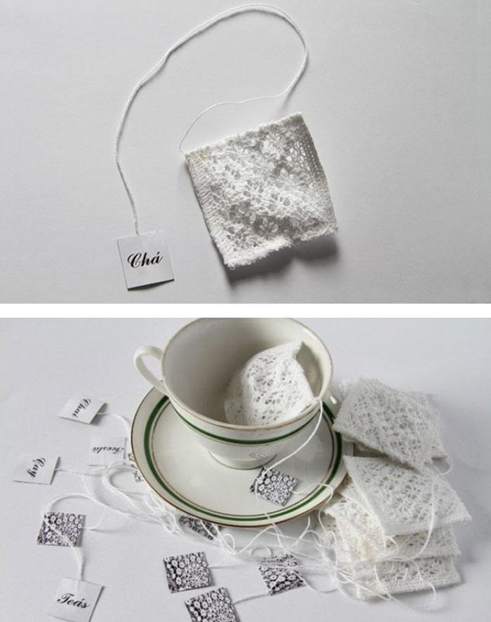 Beautiful Handmade Tea Bags