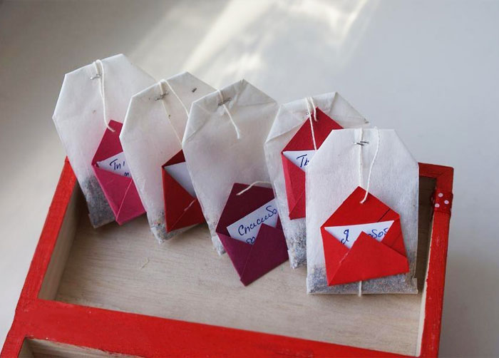Creative Envelope With Letter Tea Bags