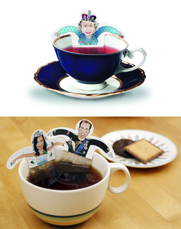 Funny Royal Tea Party