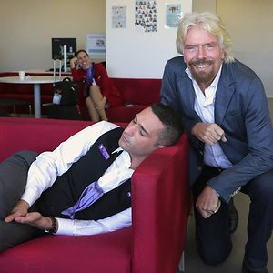 Richard Branson Catches His Employee Sleeping At Work