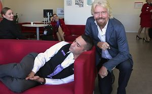 That Awkward Moment When Company Founder Catches You Sleeping At Work (PS Challenge)