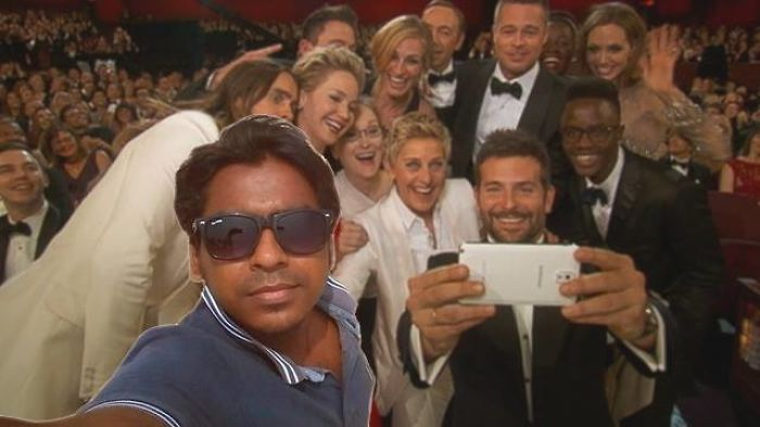 He Was There For The Most Famous Selfie