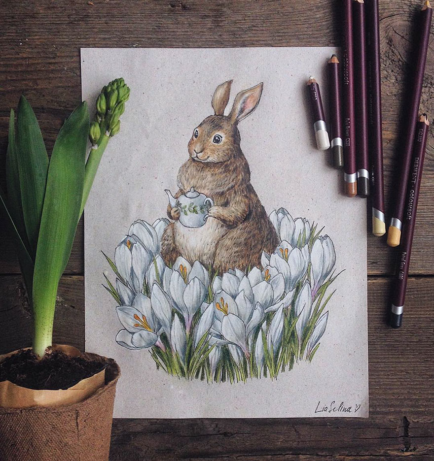fairytale-illustrations-color-pencil-lia-selina-1