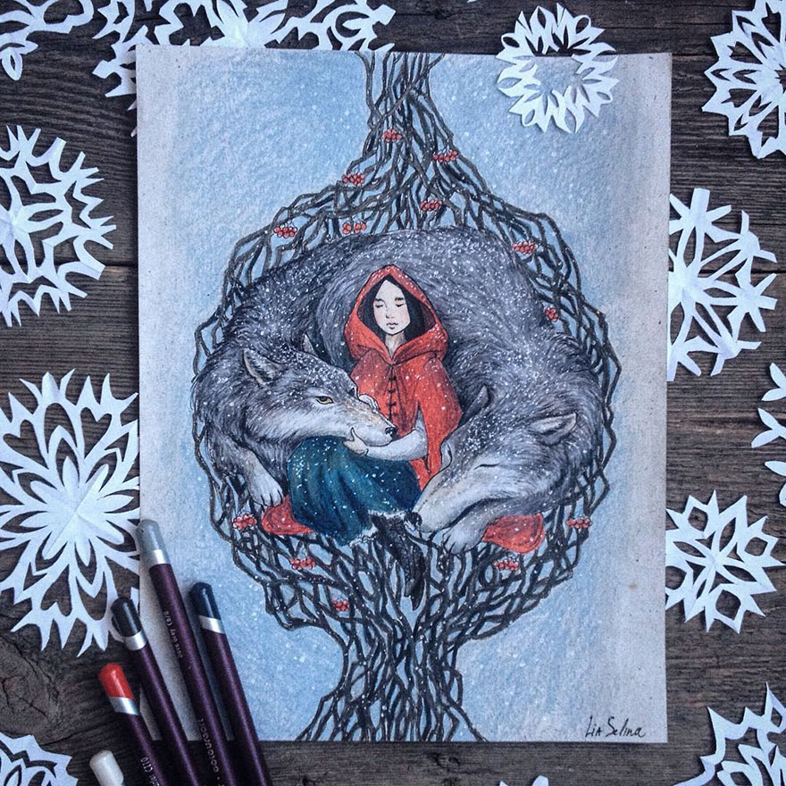 fairytale-illustrations-color-pencil-lia-selina-18