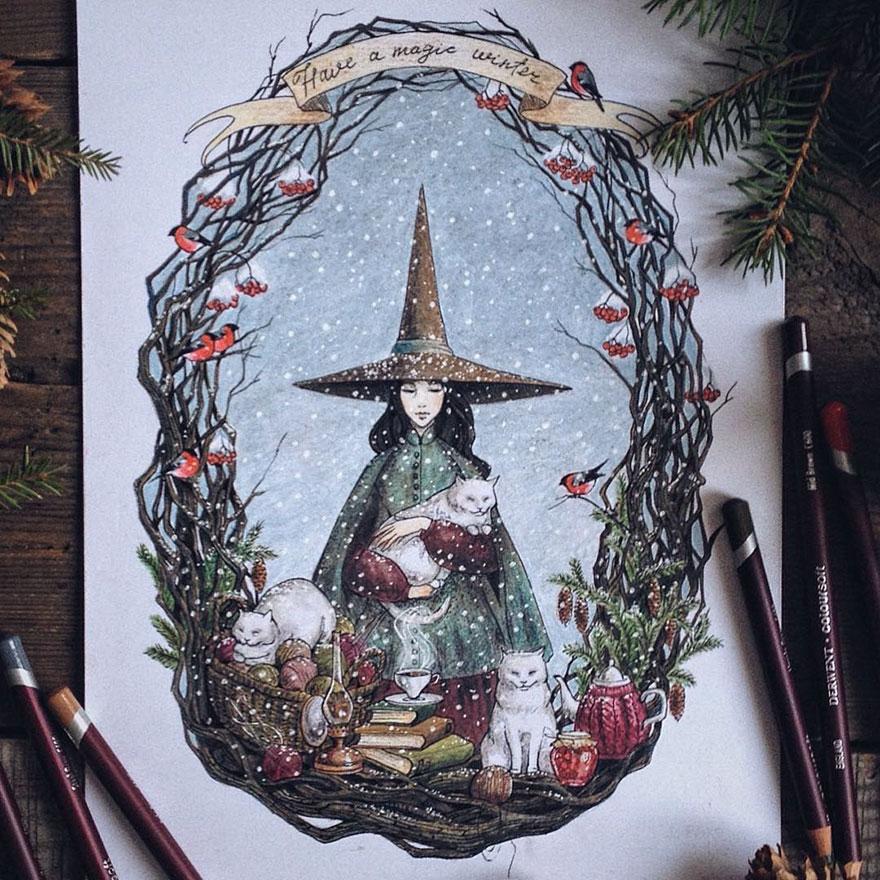 fairytale-illustrations-color-pencil-lia-selina-24