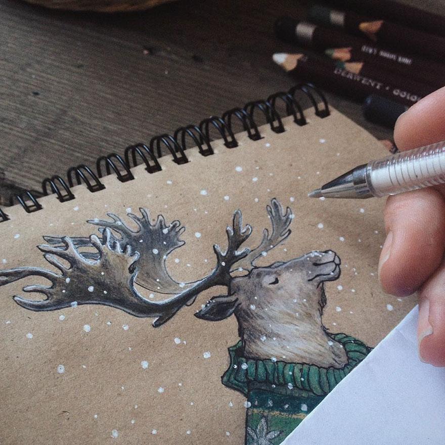 fairytale-illustrations-color-pencil-lia-selina-32