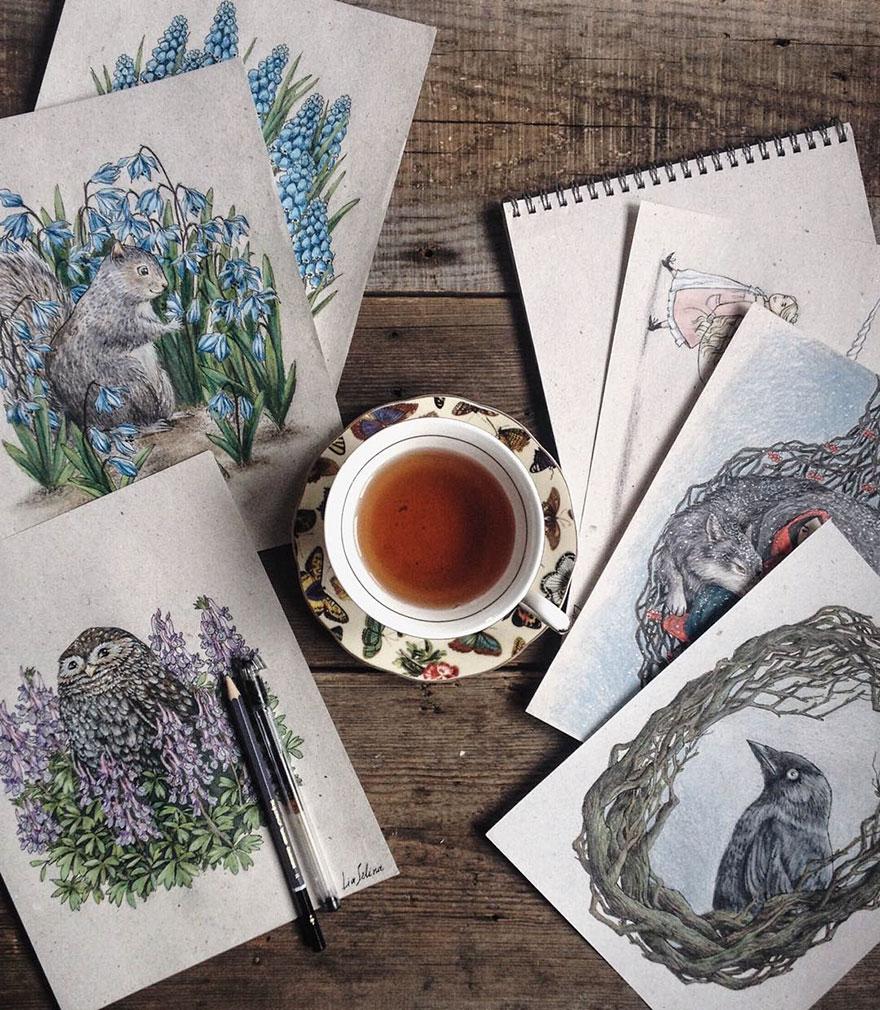 fairytale-illustrations-color-pencil-lia-selina-4