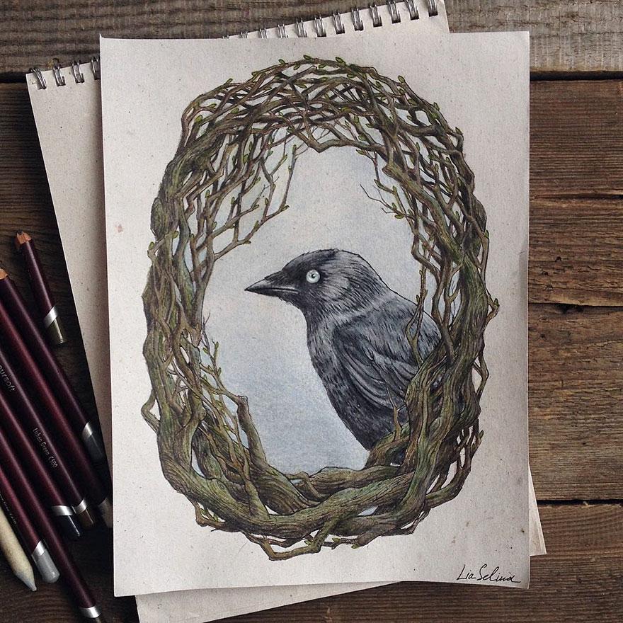 fairytale-illustrations-color-pencil-lia-selina-7