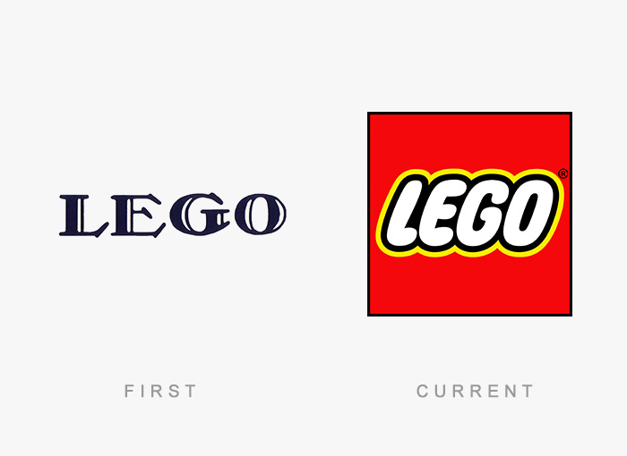 Famous Logos Then And Now Bored Panda - 10 famous logos that changed in 2016