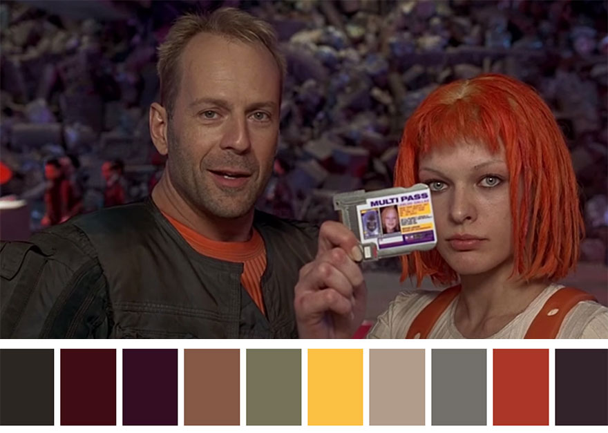 The Fifth Element (1997) Dir. Luc Besson