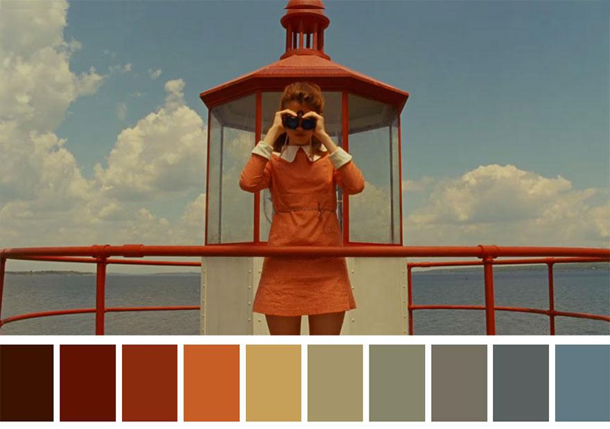 Moonrise Kingdom (2012) Dir. Wes Anderson