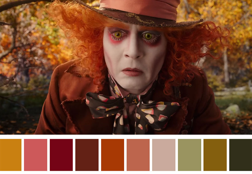 Alice Through The Looking Glass (2016) Dir. James Bobin