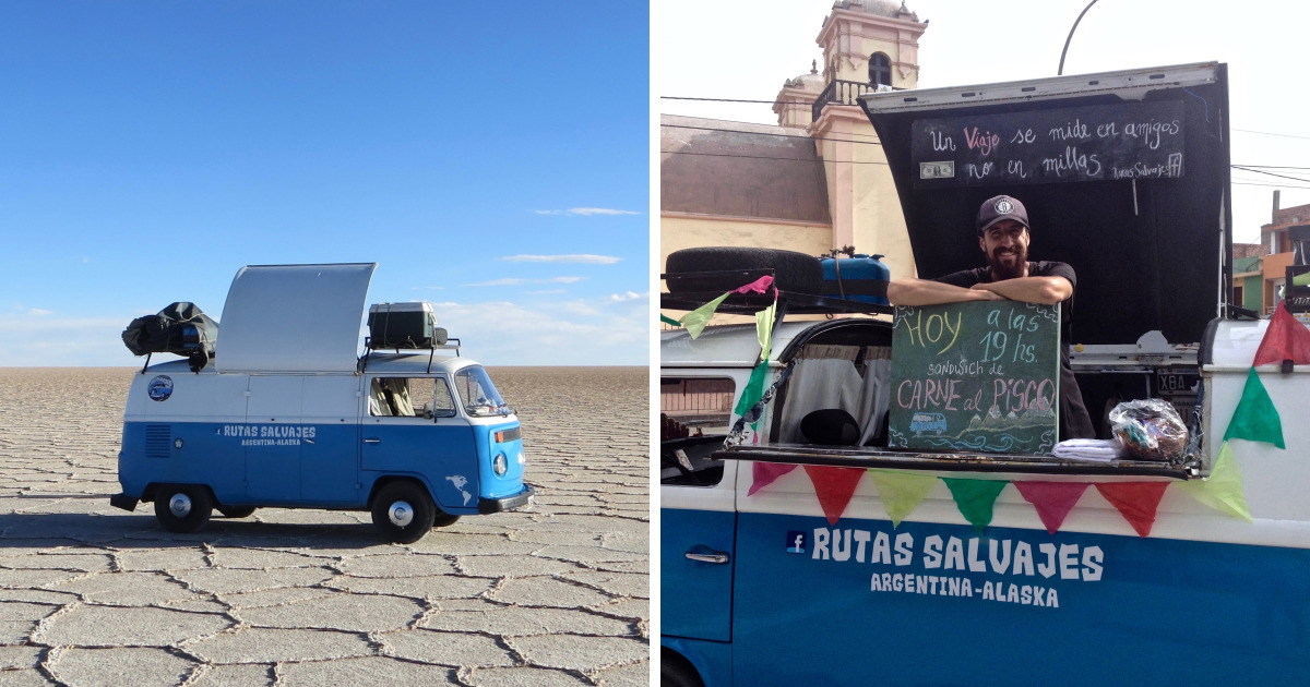 I Turned My Van Into A Food Truck To Travel Around The World