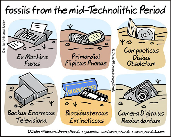 Technology cartoon