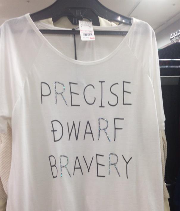 Precise Dwarf Bravery