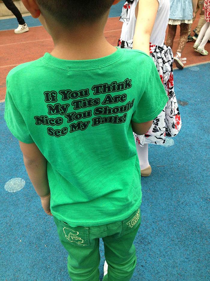 Uh, No Thanks, Chinese Kid