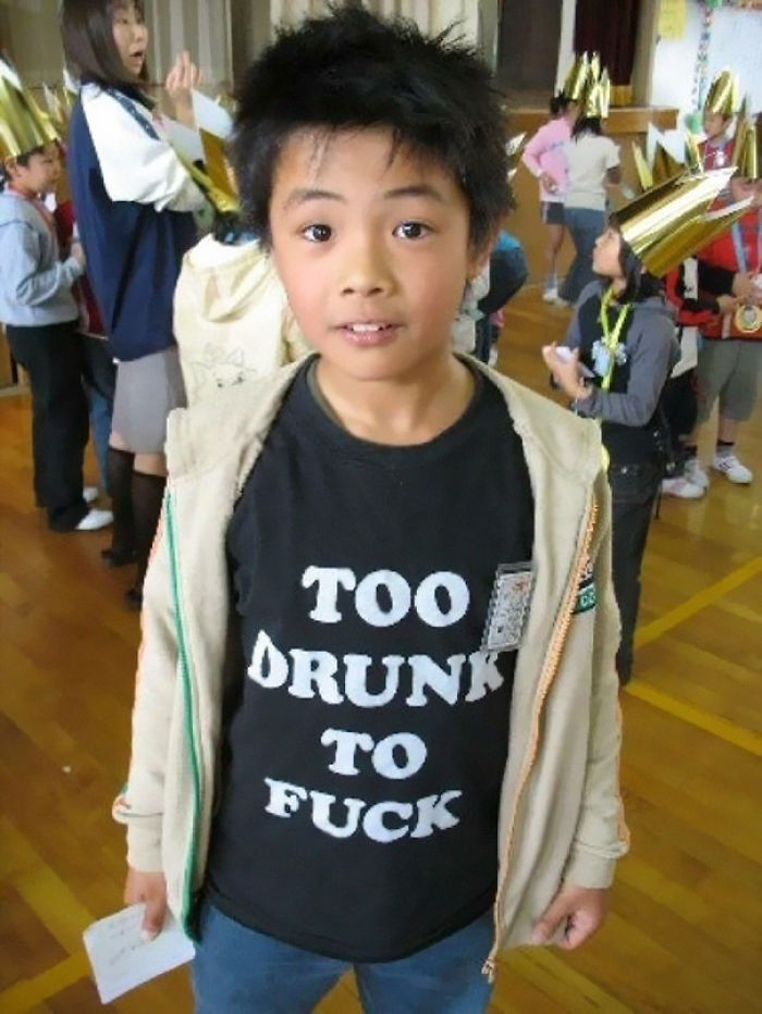 Inspirational T-Shirt In Asia